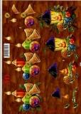 3D-Bogen Kerzen und Laterne von LeSuh (416922)