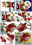 3D-Bogen Weihnachtsmann von LeSuh (4169216)