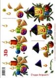 3D-Bogen Kerze und Laterne von LeSuh (416907)