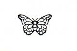 Sticker - Schmetterlinge 2 - schwarz - 822