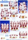 3D-Bogen Weihnachtsmänner von LeSuh (4169706)