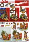 3D-Bogen Weihnachten von LeSuh (650008)