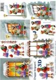 3D-Bogen Kinder vorm Fenster von LeSuh (4169516)
