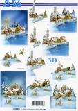 3D-Bogen Weihnachtsstimmung von LeSuh (4169932)