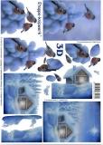 3D-Bogen Vögel im Schnee von LeSuh (4169542)