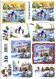 3D-Bogen Winterlandschaft von LeSuh (4169192)