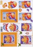 3D-Bogen Küken im Ei von LeSuh (4169410)