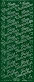 Sticker - Frohe Weihnachten - dunkelgrün - 450