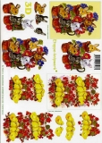 3D-Bogen Osterhase und Küken von LeSuh (4169243)