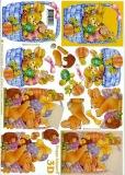 3D-Bogen Osterhase und Korbvon LeSuh (4169415)