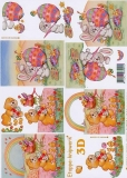 3D-Bogen Oster-Bär von LeSuh (4169412)