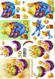 3D-Bogen Ei mit Küken von LeSuh (4169661)