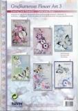 Karten-Bastelset - Grußkartenset Flower Art 3 von Reddy (85052)