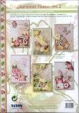 Karten-Bastelset - Grußkartenset Flower Art 2 von Reddy (85051)