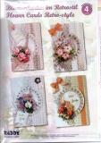 Karten-Bastelset - Blumenkarten im Retrostil von Reddy (80475)
