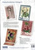 Karten-Bastelset - Triptychonkarten Vintage 3 von Reddy (85119)