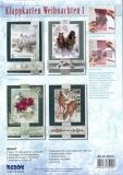 Karten-Bastelset - Klappkarten Weihnachten 1 von Reddy (85155)