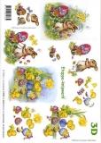 3D-Bogen Set Ostern 2  (SET-014)