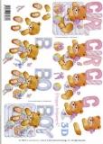 3D-Bogen Set Baby Bärchen 1  (SET-015)
