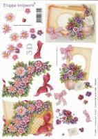 3D-Bogen Set Blumen 1 (SET-013)