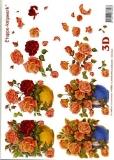 3D-Bogen Set Rosen 3  (SET-012)