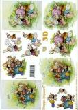 3D-Bogen Set Ostern 3  (SET-030)