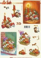 3D-Bogen Set Weihnachten 1  (SET-020)