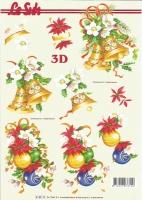 3D-Bogen Set Weihnachten 4  (SET-024)