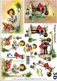 3D-Bogen Set Weihnachten 7  (SET-027)