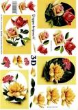 3D-Bogen Set Rosen 4  (SET-031)