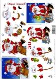 3D-Bogen Set Weihnachten 6  (SET-026)