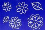 Sticker - Blumen 19 - silber - 1113