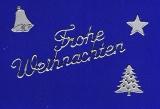 Sticker - Weihnachten 1 - silber - 450