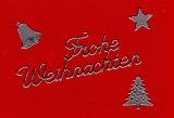 Sticker - Weihnachten - silber - 450