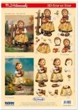 3D-Stanzbogen M.I.Hummel von Reddy (950020)