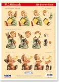3D-Stanzbogen M.I.Hummel von Reddy (950019)