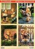 3D-Stanzbogen-Set M.I.Hummel von Reddy (950113)