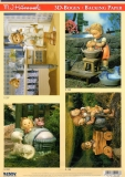 3D-Stanzbogen-Set M.I.Hummel von Reddy (950108)