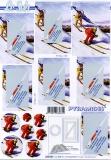3D-Pyramidenbogen Skifahrer von LeSuh (630.081)