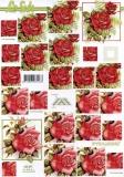 3D-Pyramidenbogen Rote Rosen von LeSuh (630.091)