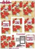 3D-Pyramidenbogen Rosen von LeSuh (630.090)