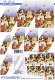 3D-Pyramidenbogen Hund & Katze von LeSuh (630.068)