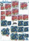 3D-Pyramidenbogen Blumen von LeSuh (630.076)