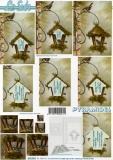 3D-Pyramidenbogen Vogelhaus von LeSuh (630.033)