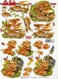 3D-Bogen Pilze & Maus von Nouvelle (8215293)
