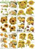 3D-Bogen Sonnenblumen & Kürbisvon LeSuh (777.364)