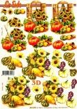 3D-Bogen Sonnenblumen von Nouvelle (8215299)