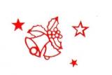Sticker - Glocken 1 - rot - 855