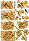 3D-Bogen Herbstblätter von Nouvelle (8215174)
