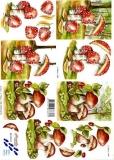3D-Bogen Pilze von Nouvelle (8215173)